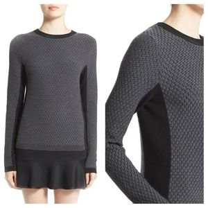 RAG & BONE 'Jaime' Crewneck Sweater Charcoal